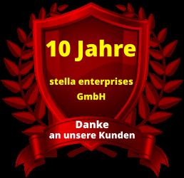 10 Jahre Firmenjubiläum