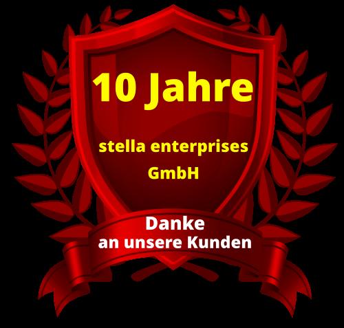 10 Jahre Firmen Jubiläum
